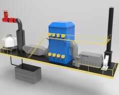 全自動工業廢氣處理裝置